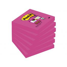 Post-It Pack.6 Bloc 76X76 Ssticky Fucsia 654-6Ss-Pnk 70005251478