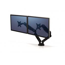 Fellowes Brazo Doble Para Monitor 27'' Platinum Series Negro 8042501