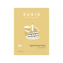 Rubio Cuaderno Operaciones Nº 1A Pr-1A