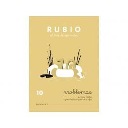 Rubio Cuaderno Problemas Nº 10 Pr-10