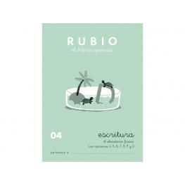 Rubio Cuaderno Escritura Nº 04 C-04