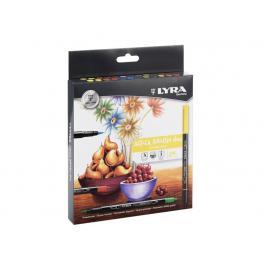 Lyra Groove Estuche 24 Aqua Brush Duo 6521240