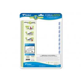 Sadipal Blister 5 Forros En Polipropileno 80 Micras 29X55Cm Sad02011