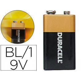 Pila Duracell Alcalina Plus 9 Volt.