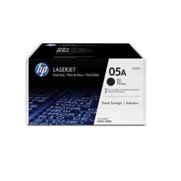 Hp Toner Laser 05A Negro Pack 2 2300 Paginas Ce505D