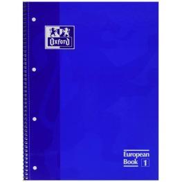 Oxford Cuaderno Microp 1 Sección Formato A4 80H 90G Pautado Azul Ted  Ref.100430263