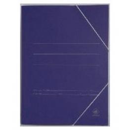 Mariola Carpeta de Cartón N.5. Con Solapas y Cierre de Gomas. Formato Folio. Color Azul. Ref. 1085