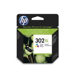 Hewlett Packard Cartucho de Tinta Tri-Color 302Xl F6U67Ae#abe