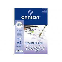 Guarro Canson Bloc Imagine 50 Hojas 200G. A2 200006003