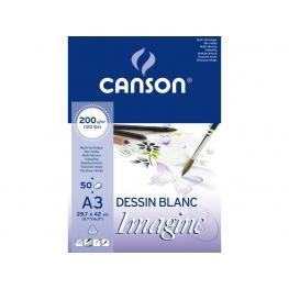 Guarro Canson Bloc Imagine 50 Hojas 200G. A3 200006007