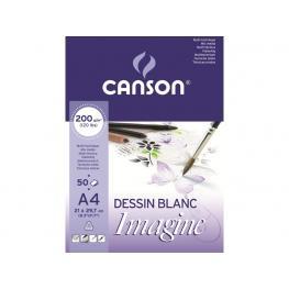 Guarro Canson Bloc Imagine 50 Hojas 200G. A4 200006008