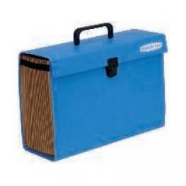 Fellowes Maletin Clasificador Acordeon Bankers Box Azul Ref.9352201