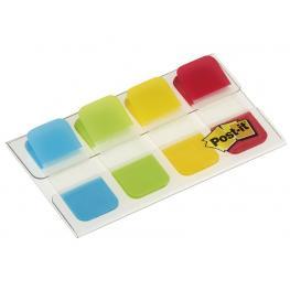 Post-It Index Rigido Mini Rojo,amarillo,lima, Azul Dispensador Funda 4X10 676-Alyr-Eu