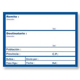 Apli Etiquetas de Envio Rollo 200 Ud 82X109 Autoadhesivas 324