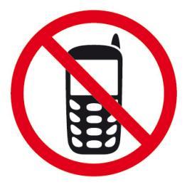 Etiqueta Señalizacion Apli prohibido Uso Movil 848