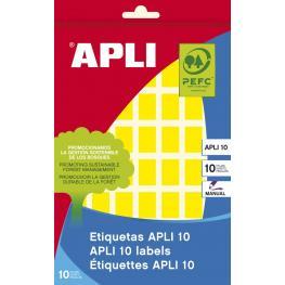 Sobre Apli-10 Etiquetas 12X18 Mm. Amarillas 2750