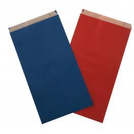 C. 250 Sobres 18X5,5X35 Cm Kraft Rojo 101652