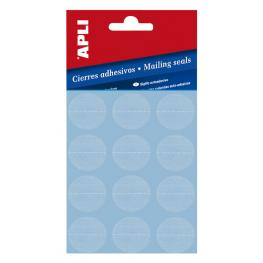 Bolsa 10H. Etiquetas Cierre Adhesivo Transparente 10694