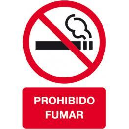B.Prohibido Fumar  180X120 2H. 11342