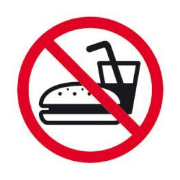 B.Prohibido Comer Interior 1H. 11537