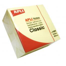 Cubo Notas Adhesivas Apli  400H 11597