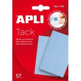Masilla Apli-Tack 57Gr Azul 11703