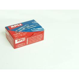 Caja 100 Clips Niquelados Apli Nº 1,5 11710
