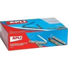 Caja 100 Fastener Metalicos Apli 11832