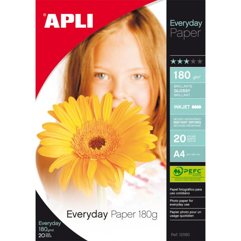 B.Papel Everyday     180G. 20H 12080