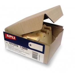 Caja 1000 Etiquetas C/arandela 80X38Mm Apli 121372