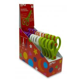Caja-Expositor Con 12 Tijeras Preescolar Apli 12821