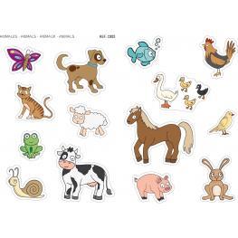 B.Gomets Maxi Animales     4H. Rem 12825