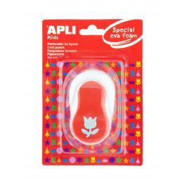 Perforadora de Goma Eva -Tulipan- Apli 13299
