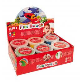 Exp.Fun Dough 40G Ro Ve Am Az Bl Ng 12U 13450