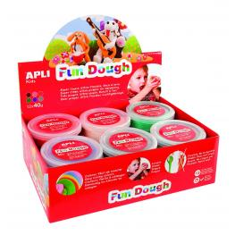 Exp.Fun Dough 40G Ma Rs VI Gr Na Ve 12U 13451