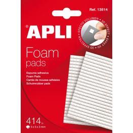 B.Apli Foam Pad 5X5X3 414U. 13814