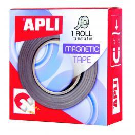 Rollo Cinta Adhesiva Magnetica 19Mmx1M Apli 13830