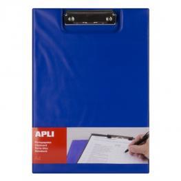 Carpeta Con Pinza y Con Solapa A4 Pp Color Azul Apli 17205