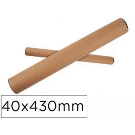 Tubo de Cartón Para Envios A3/a2 40X430X460 Mm