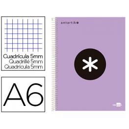 Cuaderno A6 Liderpapel Trending Topic Colours Lila Lavanda