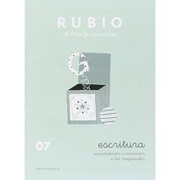 Rubio Cuaderno Escritura Nº 07 C-07