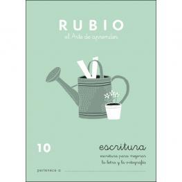 Rubio Cuaderno Escritura Nº 10 C-10