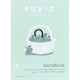 Rubio Cuaderno Escritura Nº 4 C-4