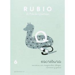 Rubio Cuaderno Escritura Nº 6 C-6