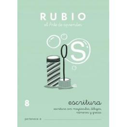 Rubio Cuaderno Escritura Nº 8 C-8