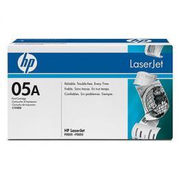 Hewlett Packard Toner Laser 05A Negro  Ce505A