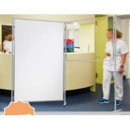 Rocada Panel de Protección Cristal Blanco Templado Magnético 120X90Cm (Sin Estructura)