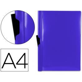 Carpeta Dossier Pinza Lateral A4 60H. Azul Liderpapel Dp11