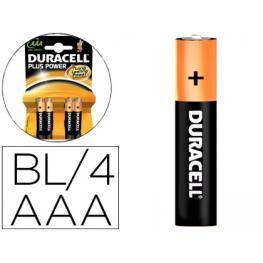 Pack 4 Pilas Recargable Duracell Aaa