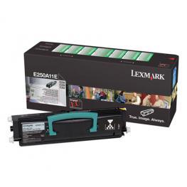 Lexmark Toner Laser  Negro  E250A11E